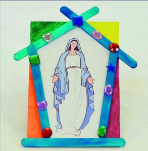 Solemnity of the Immaculate Conception of the Blessed Virgin Mary: Marian Grotto Craft